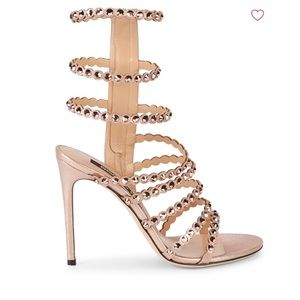 Sergio Rossi crystal sandals